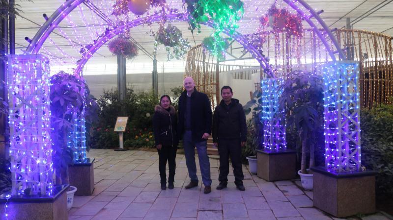 英国贝尔法斯特女王大学教授访问中农富通(图3)