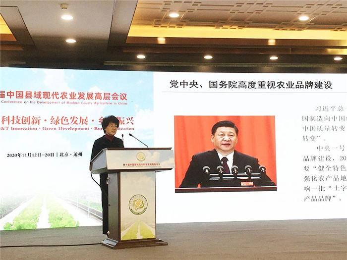 热烈祝贺第十届中国县域现代农业发展高层会议在北京城市副中心隆重召开(图19)
